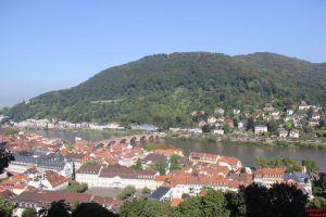 Altstadt mit Blick auf dem Heiligenberg