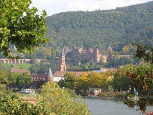 Altstadt mit Blick auf das Schloss