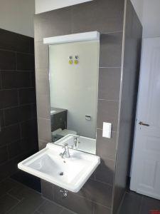 Bad- und Duschbereich