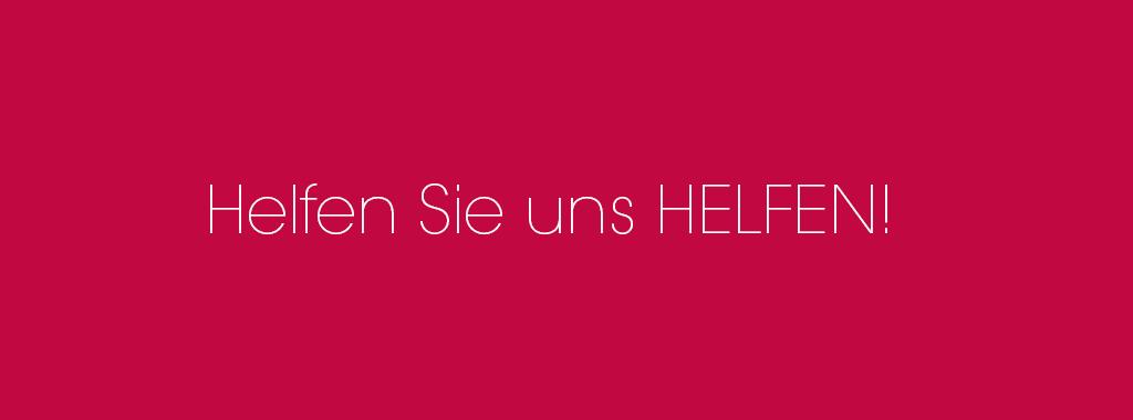Keller-Thoma-Stiftung in Heidelberg - helfen Sie uns HELFEN!